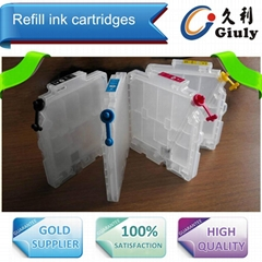 Refillable ink cartridge for Ricoh GC21