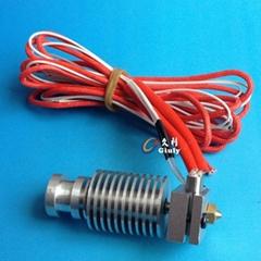 Short-distance 3D Printer J-head Hotend for 1.75mm/3.0mm E3D Bowden Extruder