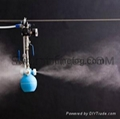 Industrial Low pressure air compressed mist sprayer air humidifier 2