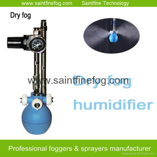 Industrial Low pressure air compressed mist sprayer air humidifier 1