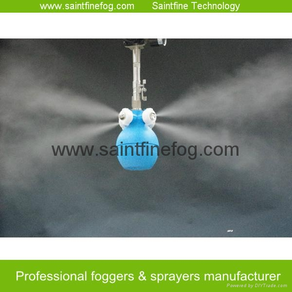Industrial Low pressure air compressed mist sprayer air humidifier 3