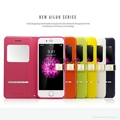 Smart Front Window S-View Case PU Leather Flip Case for iphone 6 1