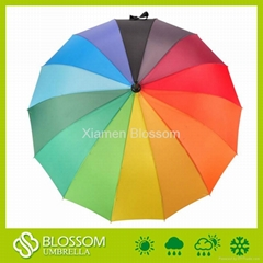 Wholesale rainbow umbrella, Auto open rain umbrella