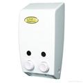 雙頭手動皂液機 400ml *
