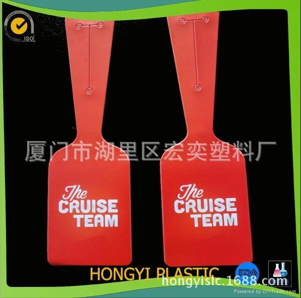 plastic/pvc luggage tag  2