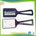 plastic/pvc luggage tag  1