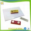 Flexible pvc badge holder 5
