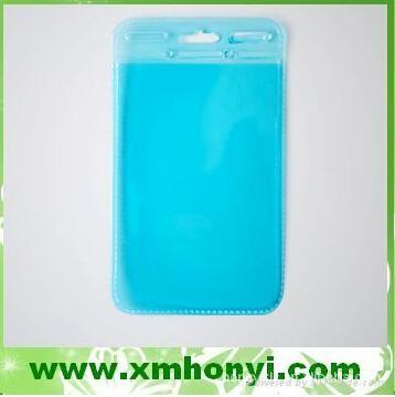 Flexible pvc badge holder 4