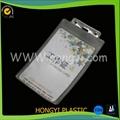 Flexible pvc badge holder 1