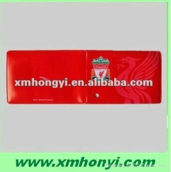 Clear PVC Holders for visitor passes 2