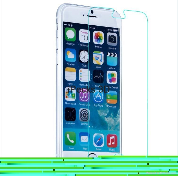 Clear screen protector for iPhone 6 plus 4