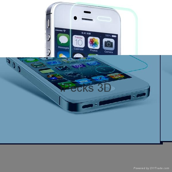 Color screen protector for iPhone 4 1