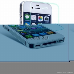 Color screen protector for iPhone 4