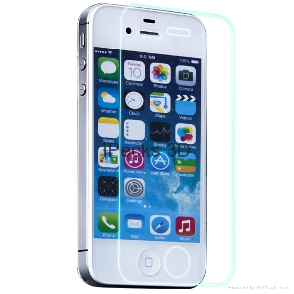 Color screen protector for iPhone 4 4