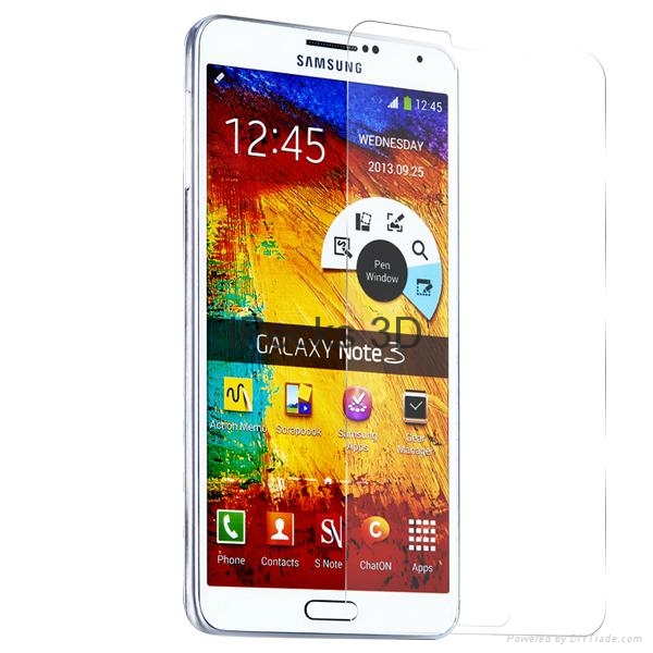 Tempered glass screen protector for Sam note3 3