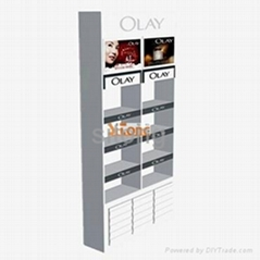 OLAY cosmetic display cabinets