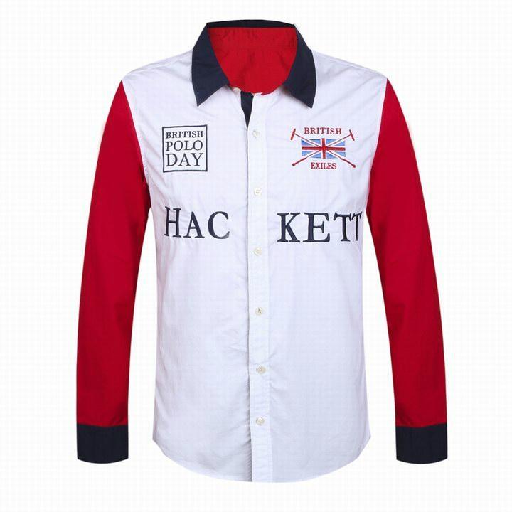 Hackett  shirts Men Hackett long sleeves t shirts hot sale 2