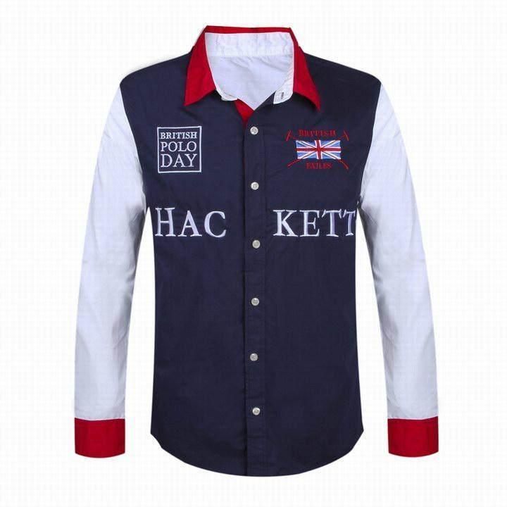 Hackett  shirts Men Hackett long sleeves t shirts hot sale 9