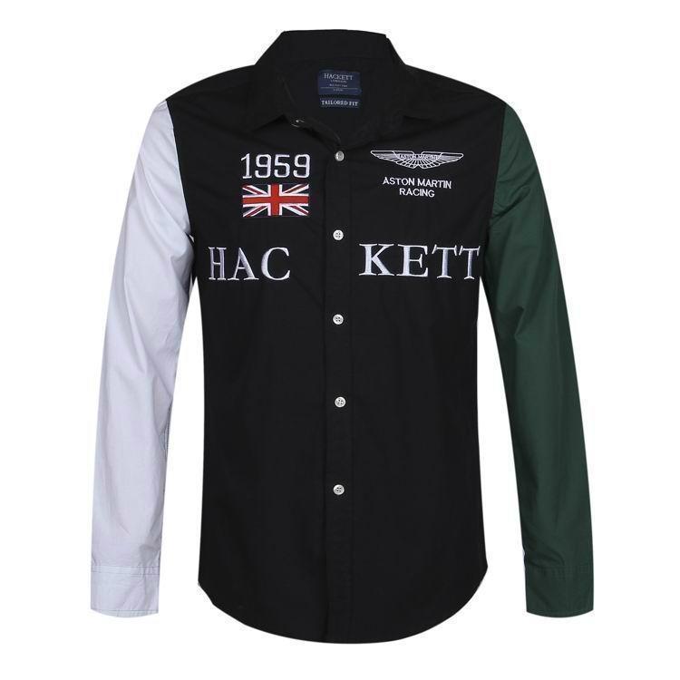 Hackett  shirts Men Hackett long sleeves t shirts hot sale 13