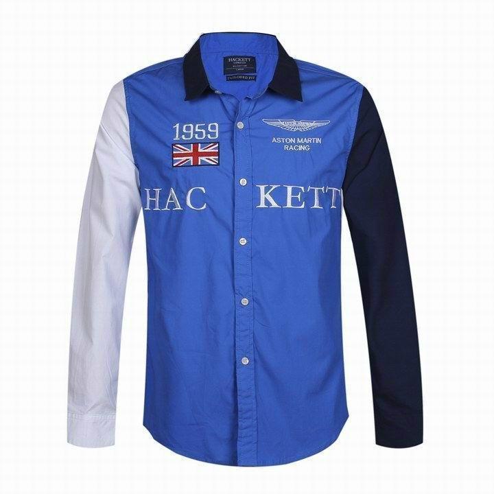 Hackett  shirts Men Hackett long sleeves t shirts hot sale 16