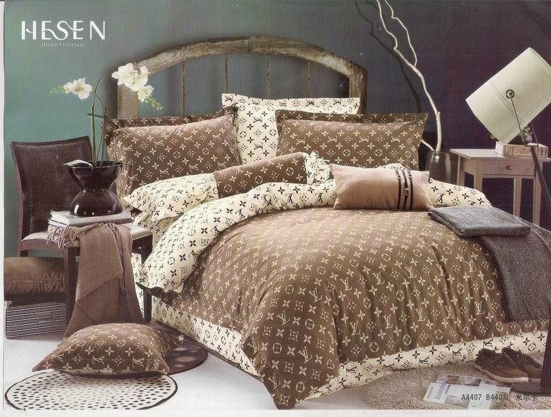 Fashion Bed Sheet LV Bedding Sets Louis Vuitton bedspread accessory hot sale 4