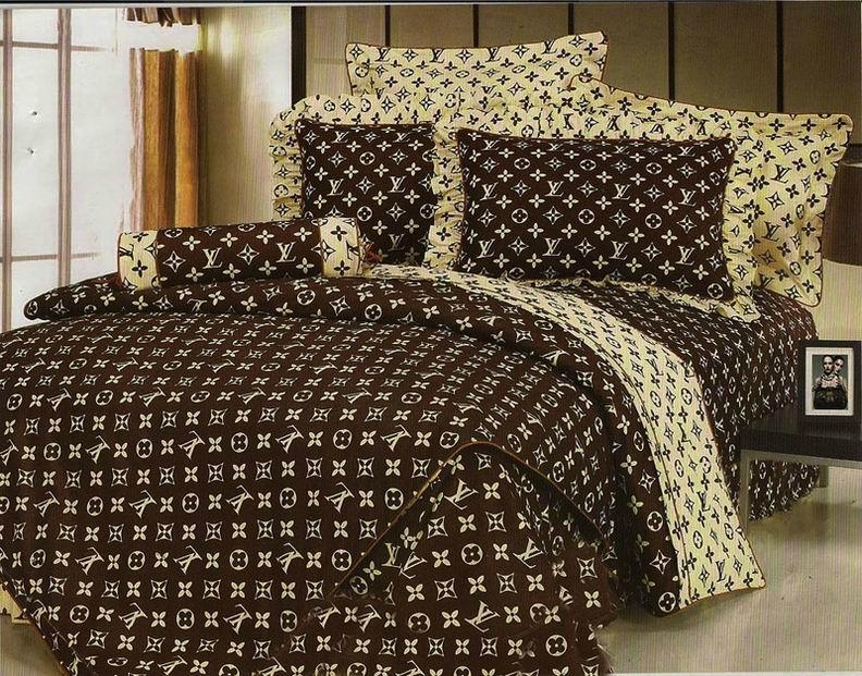 Fashion Bed Sheet LV Bedding Sets Louis Vuitton bedspread accessory hot sale 6