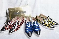 Top Miumiu women shoes casual female footwear sneakers men shoes