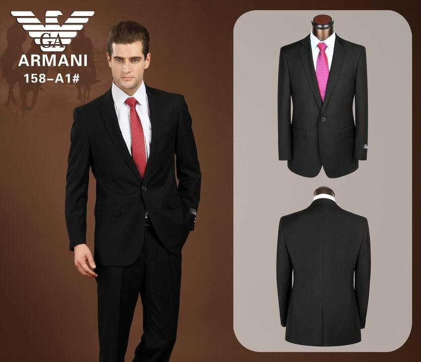 Fashion Armani business suit men suit Top sale suits - armani ...