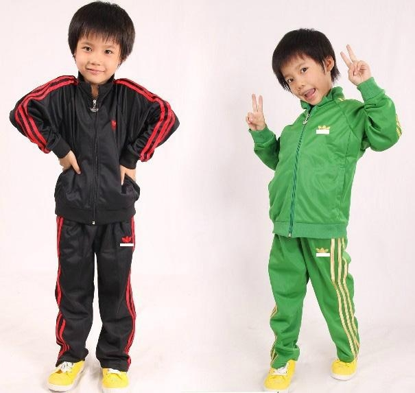 black green boys sports suits tracksuits