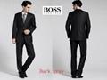 top boss business suit men suit normal coats fashion business pants