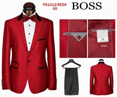 top boss business suit men suit normal coats fashion business pants