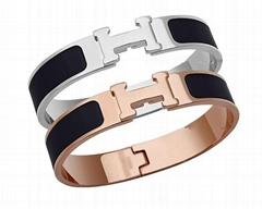 fashion Bracelet With Stainless Steel Discs-Armani bracelets bangles