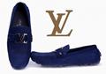 top sale blue shoes men loafers fashion shoes