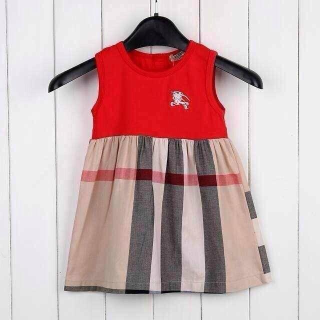 7fb95c6cc 2018 burberry Children kids dresses fashion dress girl clothings ...