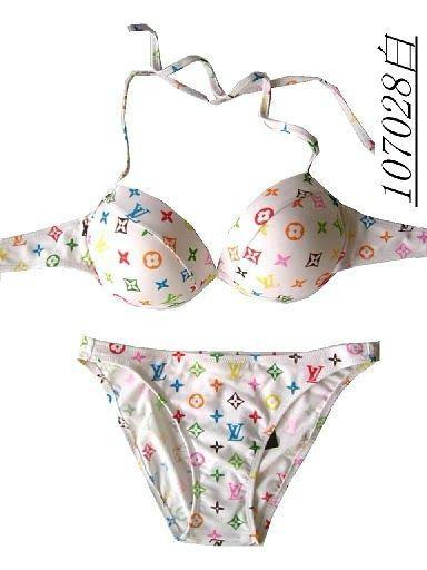 Louis vuitton blurry Monogram one-piece swimsuit lv swimsuit lv bikini