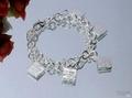 TIFFANCO Bracelets tiffanco bangles tiffanco bacelets tiffanno jewelry with box 17