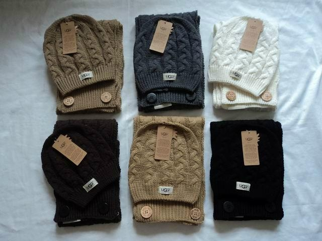 ugg hat and glove set