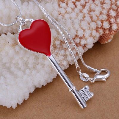 tiffany necklaces Classic key necklaces fashion keyes