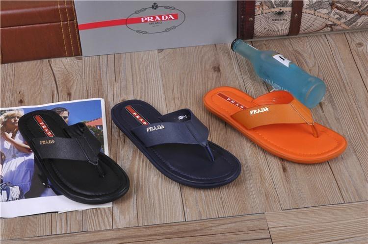 black slippers men flipflops fashion shoes