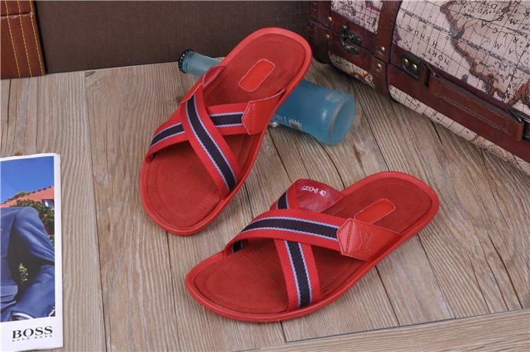 High quality slippers  loafers prada Man flip flops women slippers 12