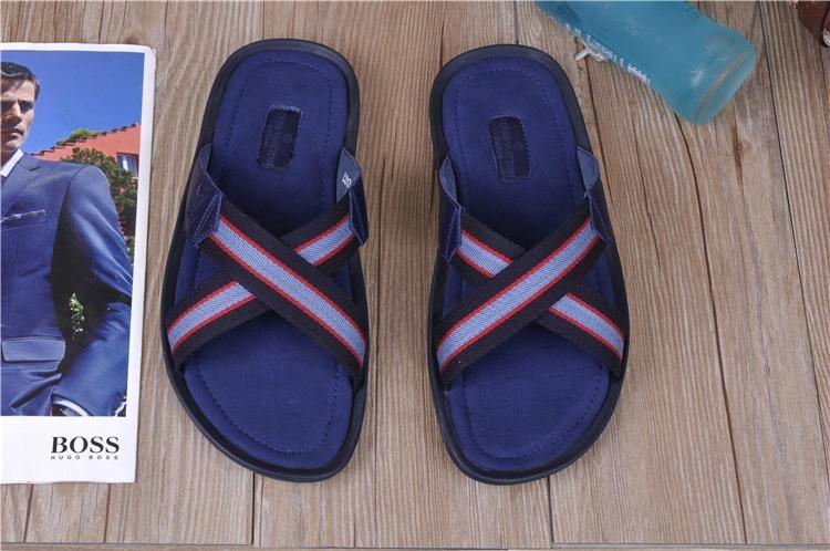 High quality slippers  loafers prada Man flip flops women slippers 16