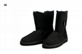 women ugg boots ugg boots fur warm boot ankle boots butterfly back fur inside