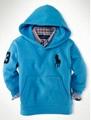 sky blue kid hoodies with caps