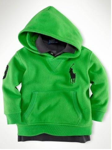 green hoodies