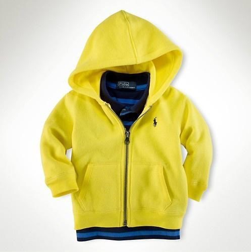 burberry hoodie kids yellow