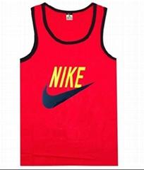New style Nike shirt men shirt red vest shirts short sleeves