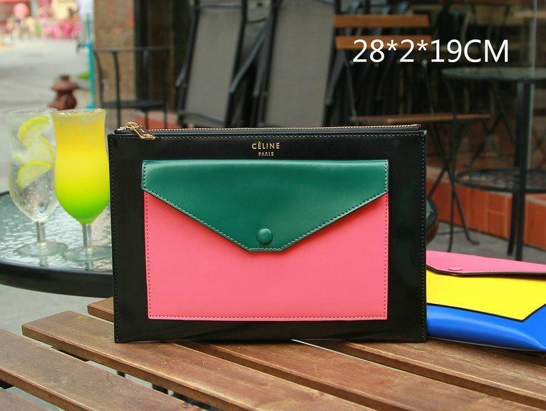 celine phantom bag buy online - Top quality real Leather Clutch celine bag women cluth Celine ...