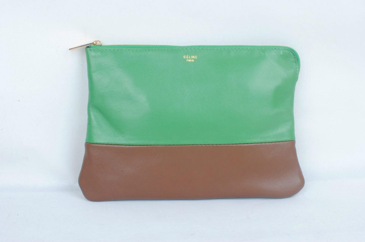 replica celine handbags - Top quality real Leather Clutch celine bag women cluth Celine ...