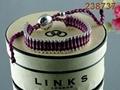 Top sale jewelries links bracelet fashion bracelts with boxes 8