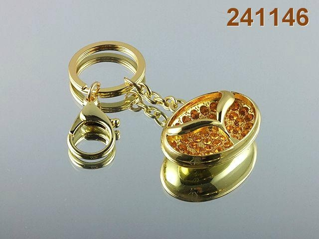 gold keychina car chains